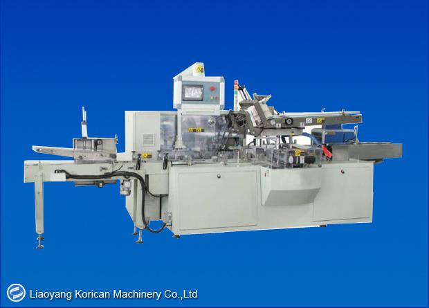 KPH-100B-H Automatic Facial Tissue Boxing and Sealing Machine (Square Box)