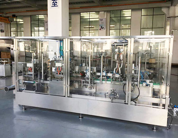 Non-PVC I.V. Bag Forming, Filling and Sealing Machine