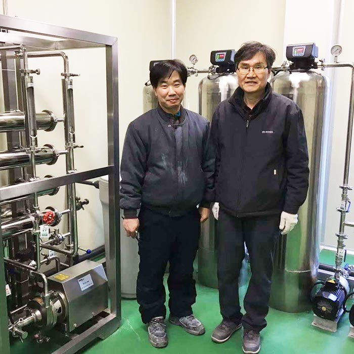 Water Treatment System for Korean Client