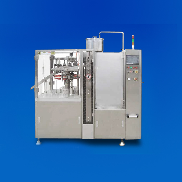 KSF80A-TB Tube Filling and Sealing Machine