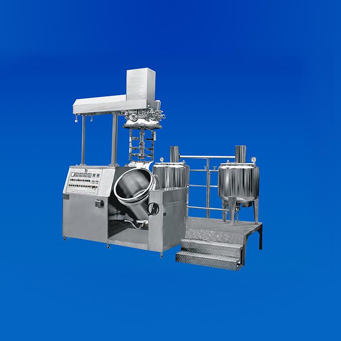 KFJ-500 Vacuum Emulsifying Mixer(Emulsifier)