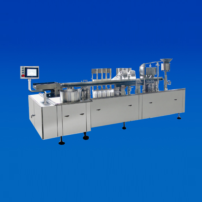 (KG-4) Cartridge Filling-Capping-Stoppering Machine