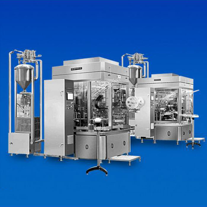 KZKR Series Yoghurt Cup Rotary Filling-Sealing Machine