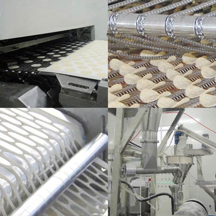 Potato Chips Making and Packaging Machinery