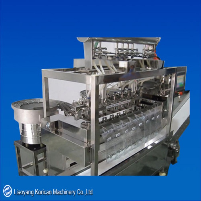 Infusion bag filling and sealing machine